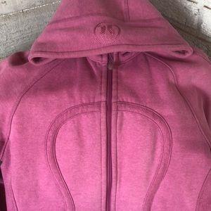 Lululemon pink scuba hoodie